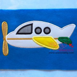 Airplane-5 Applique Design