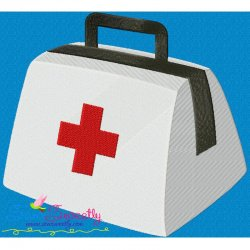 Doctors Bag Embroidery Design