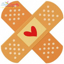 Bandage Embroidery Design
