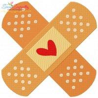 Bandage Embroidery Design