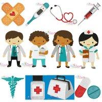 Little Doctors Embroidery Design Bundle
