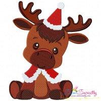 Christmas Baby Animal- Deer Embroidery Design