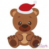 Christmas Baby Animal- Bear Embroidery Design