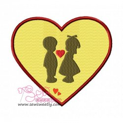Love-2 Embroidery Design