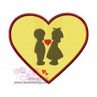 Love-2 Embroidery Design