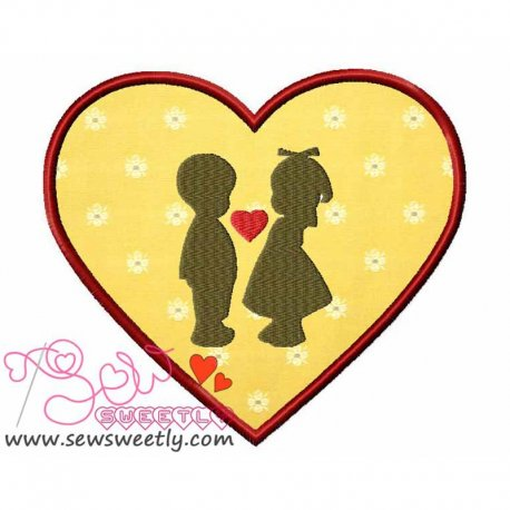 Love-2 Applique Design