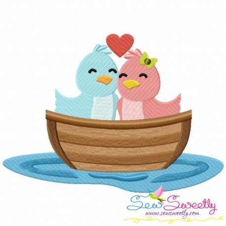 Love Boat- Birds Embroidery Design