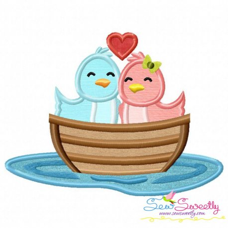 Love Boat- Birds Applique Design
