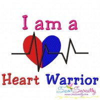 Free HLHS Awareness Exclusive Embroidery Design