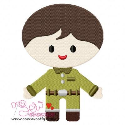 Army Boy-1 Embroidery Design