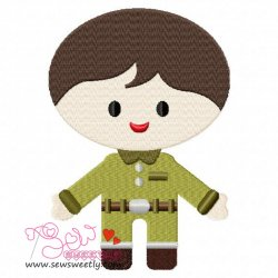 Army Boy-1 Embroidery Design