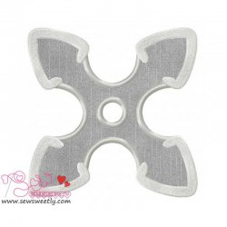 Shuriken-2 Applique Design