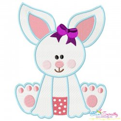 Baby Bunny Girl-2 Embroidery Design