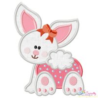 Baby Bunny Girl-1 Applique Design