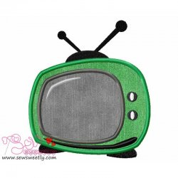 Television Applique Design