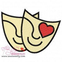 Movie Genre Romance Embroidery Design