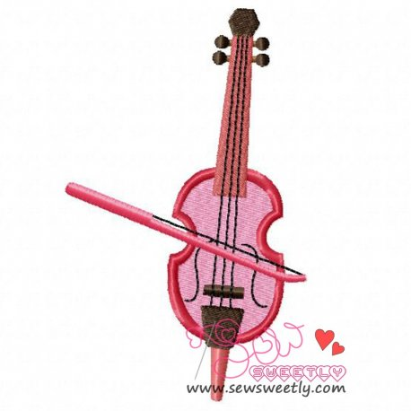 Music Instrument-7 Embroidery Design Pattern- Category- Music And Dance Designs- 1