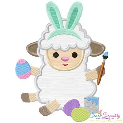 Baby Easter Sheep-1 Applique Design
