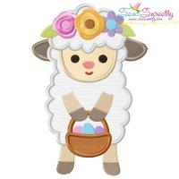 Baby Easter Sheep-2 Applique Design
