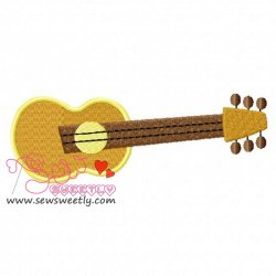 Music Instrument-4 Embroidery Design