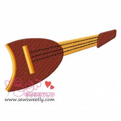 Music Instrument-3 Embroidery Design