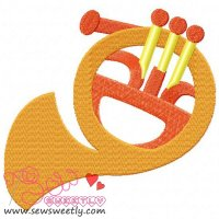 Music Instrument-2 Embroidery Design