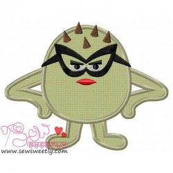 Smart Monster-2 Applique Design