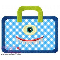 Monster Bag Applique Design