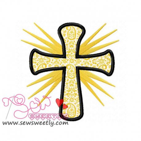 Cross-1 Applique Design