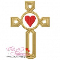 Cross-2 Embroidery Design