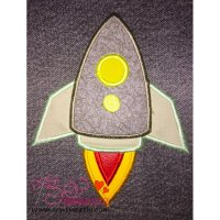 Rocket-1 Applique Design