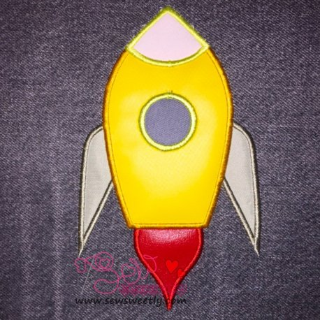 Rocket-2 Applique Design
