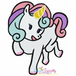Baby Unicorn-8 Machine Embroidery Design