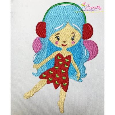 Christmas Fairy-1 Embroidery Design