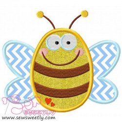 Bee-1 Applique Design