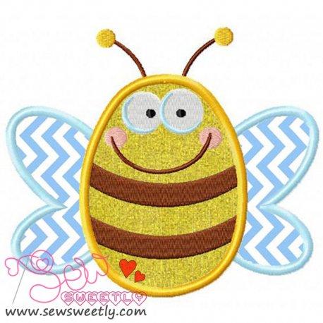 Bee-1 Applique Design
