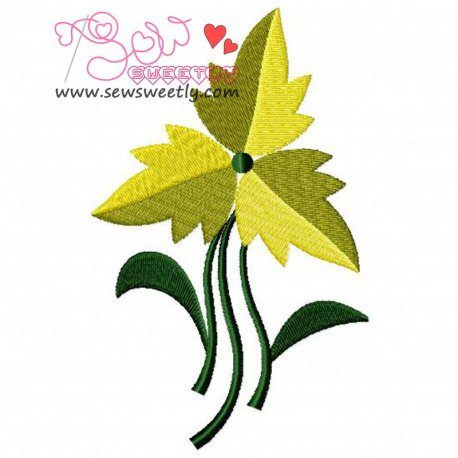 Floral Art-2 Embroidery Design Pattern- Category- Floral Designs- 1