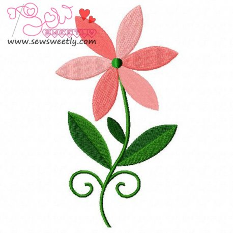 Floral Art-3 Embroidery Design
