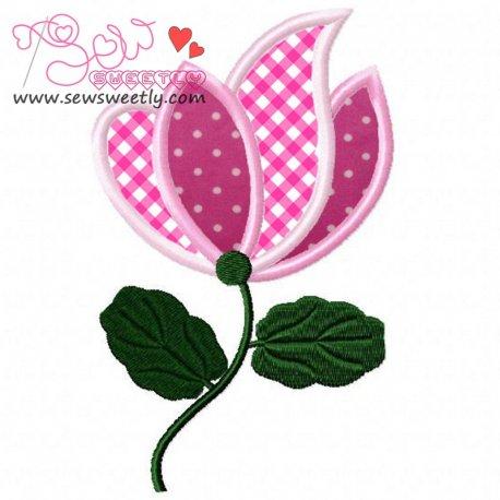 Floral Art-5 Applique Design