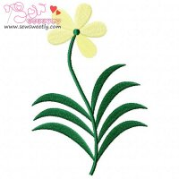 Floral Art-6 Embroidery Design