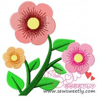 Penelope Roses Embroidery Design