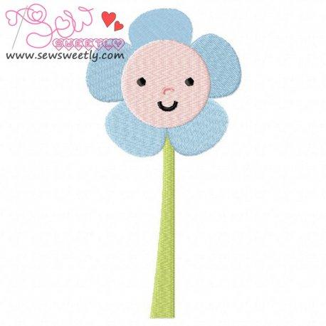 Wonderland Flower Embroidery Design