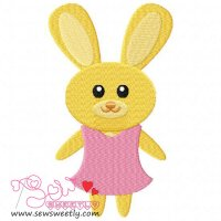 Easter Bunny-2 Embroidery Design