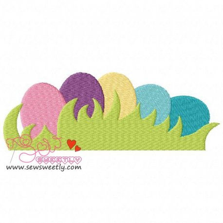 Easter Eggs-2 Embroidery Design